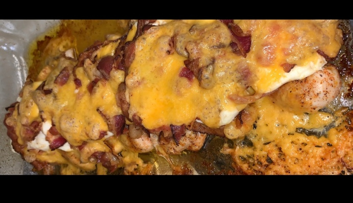 Loaded Baked Chicken